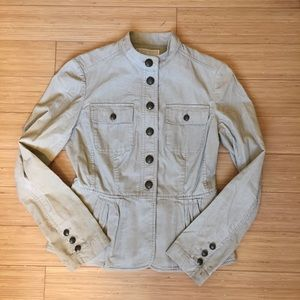 Michael Kors corduroy military jacket sz S